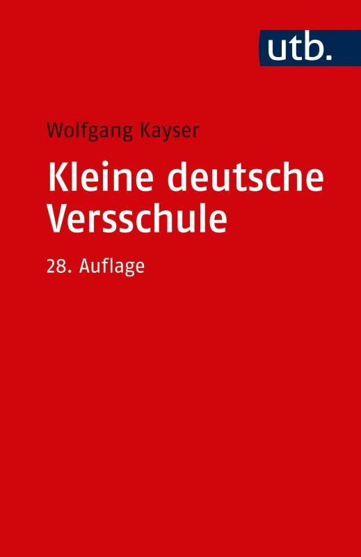 Cover-Bild Kleine deutsche Versschule
