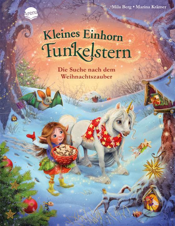 Cover-Bild Kleines Einhorn Funkelstern. Die Suche nach dem Weihnachtszauber