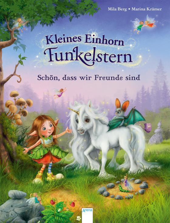 Cover-Bild Kleines Einhorn Funkelstern