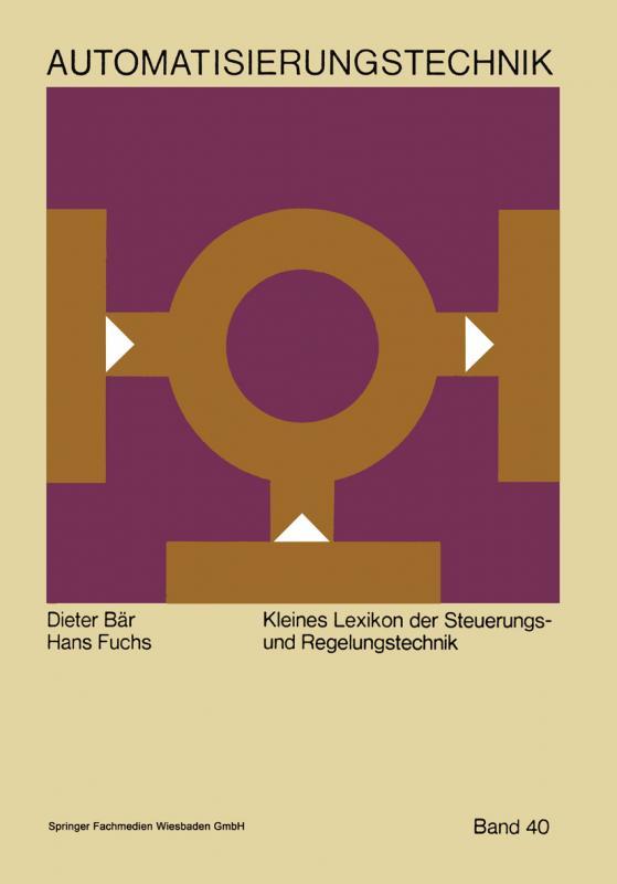 Cover-Bild Kleines Lexikon der Steuerungs- und Regelungstechnik