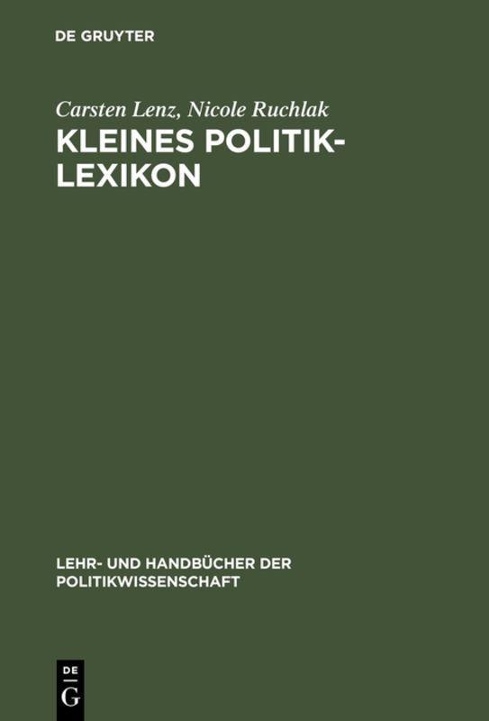 Cover-Bild Kleines Politik-Lexikon