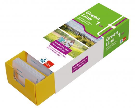 Cover-Bild Klett Green Line 1 G9 (Ausgabe ab 2019) Klasse 5 Vokabel-Lernbox zum Schulbuch