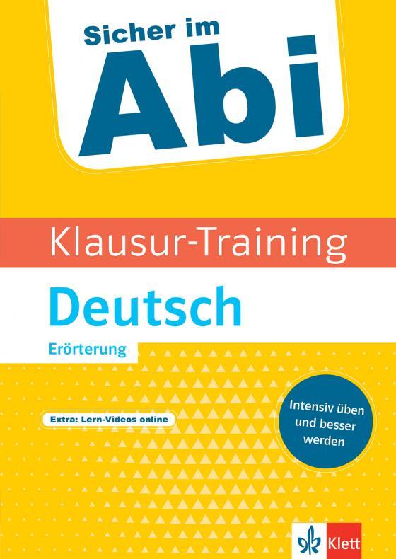 Cover-Bild Klett Klausur-Training Deutsch Erörterung