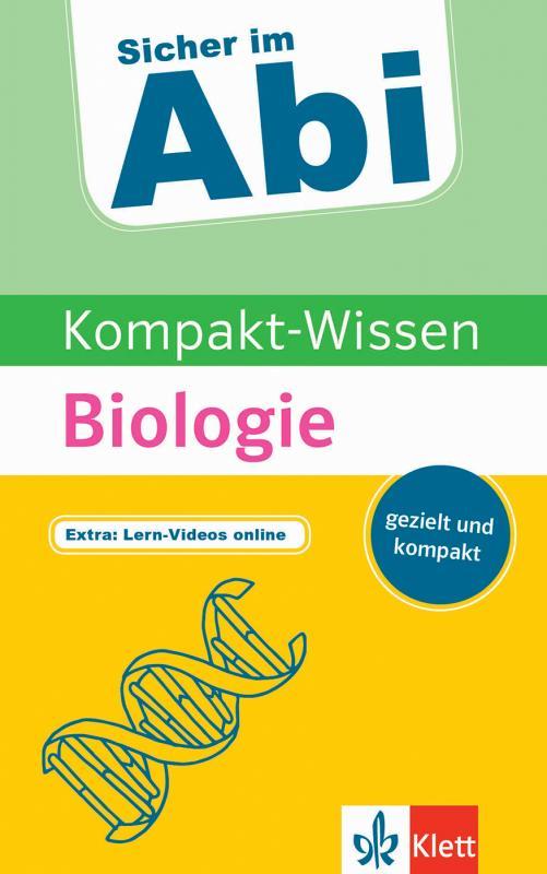 Cover-Bild Klett Kompakt-Wissen Biologie