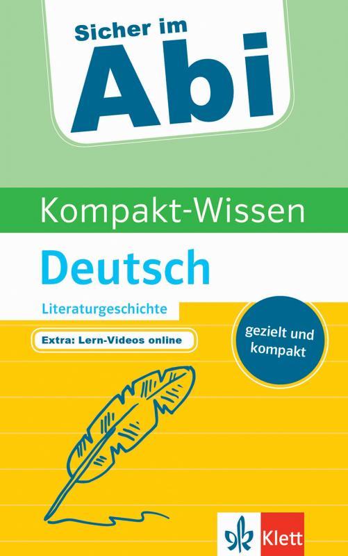Cover-Bild Klett Kompakt-Wissen Deutsch Literaturgeschichte
