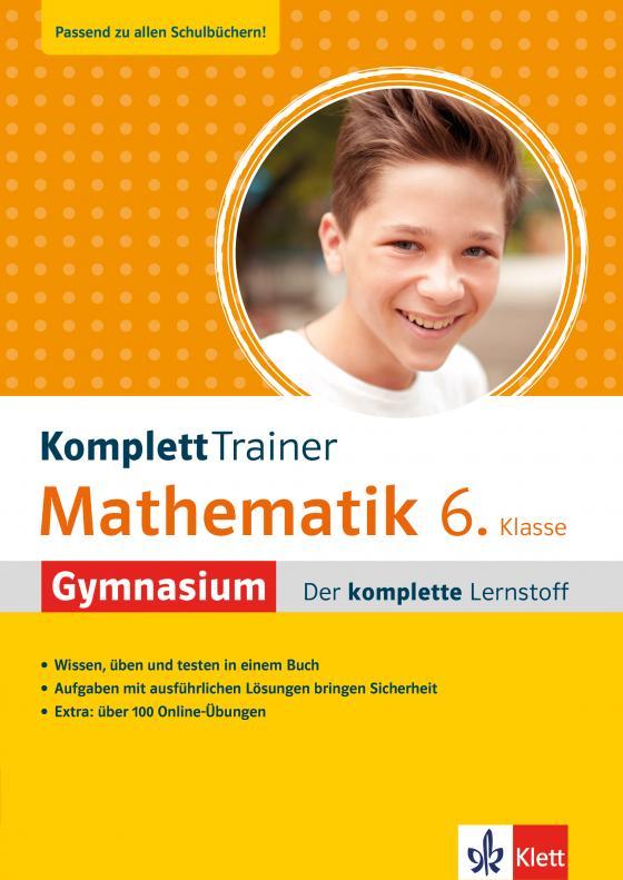 Cover-Bild Klett KomplettTrainer Gymnasium Mathematik 6. Klasse