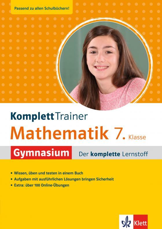Cover-Bild Klett KomplettTrainer Gymnasium Mathematik 7. Klasse
