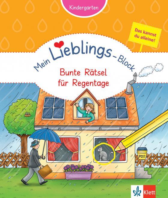Cover-Bild Klett Mein Lieblings-Block Bunte Rätsel für Regentage