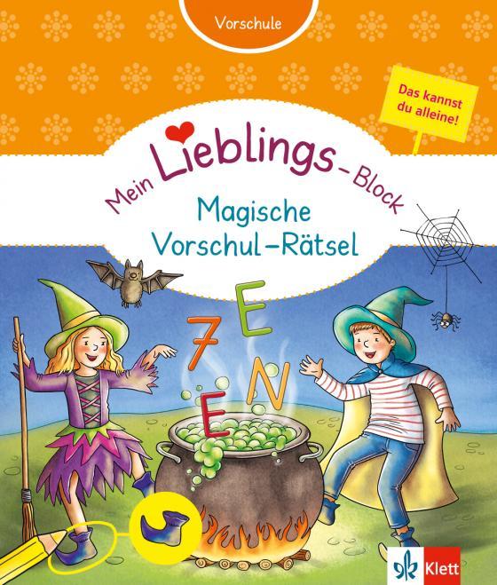 Cover-Bild Klett Mein Lieblings-Block Magische Vorschul-Rätsel