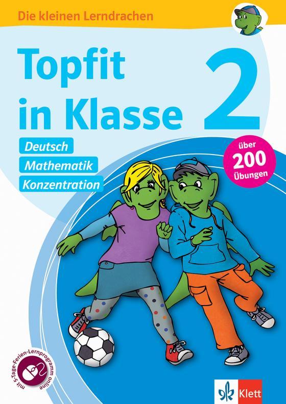 Cover-Bild Klett Topfit in Klasse 2 - Deutsch, Mathematik und Konzentration