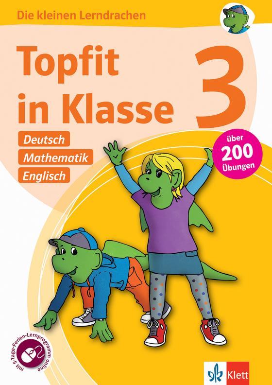 Cover-Bild Klett Topfit in Klasse 3 - Deutsch, Mathematik und Englisch