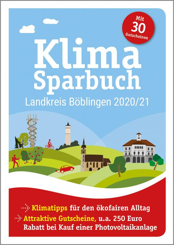 Cover-Bild Klimasparbuch Landkreis Böblingen 2020/21