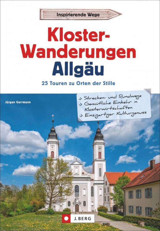 Cover-Bild Klosterwanderungen Allgäu