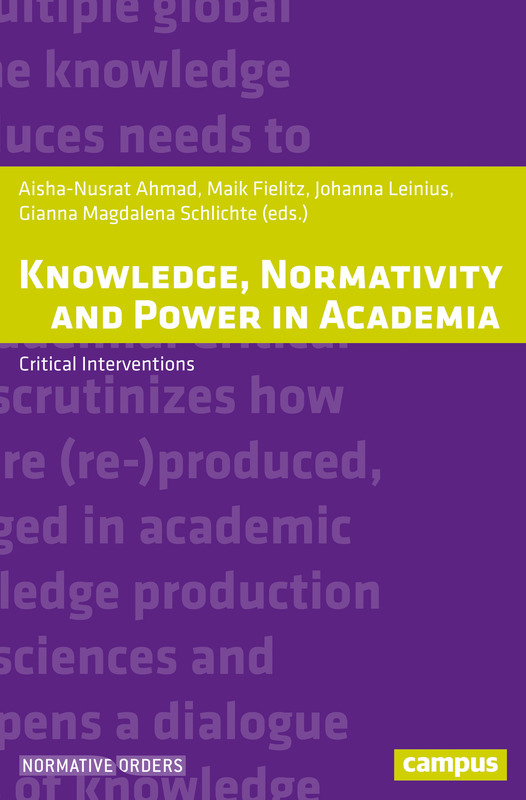 Cover-Bild Knowledge, Normativity and Power in Academia