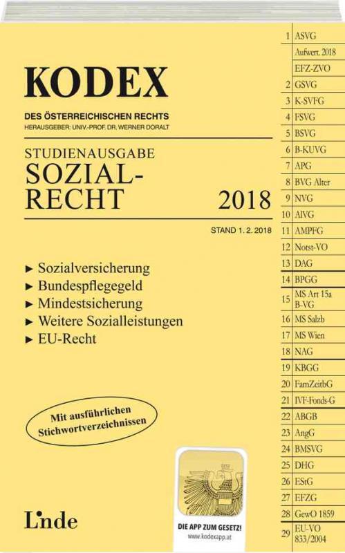 Cover-Bild KODEX Sozialrecht