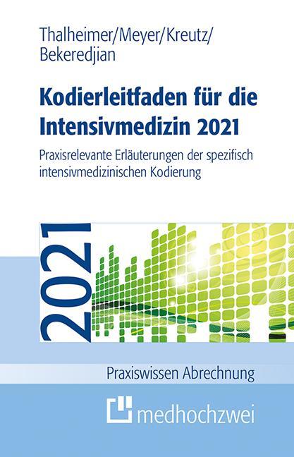 Cover-Bild Kodierleitfaden für die Intensivmedizin 2021
