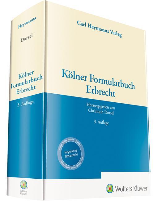 Cover-Bild Kölner Formularbuch Erbrecht