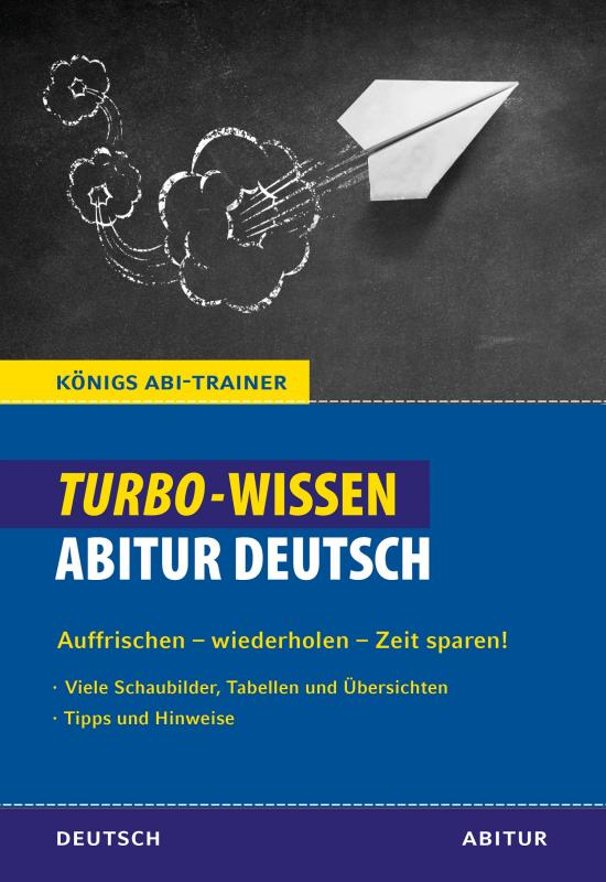 Cover-Bild Königs Abi-Trainer: Turbo-Wissen: Abitur Deutsch