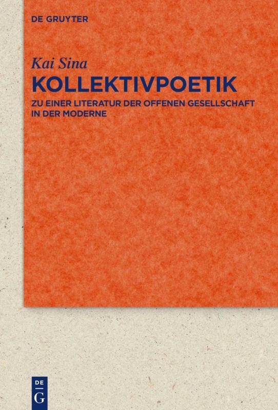 Cover-Bild Kollektivpoetik