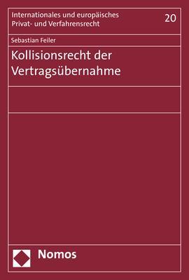 Cover-Bild Kollisionsrecht der Vertragsübernahme