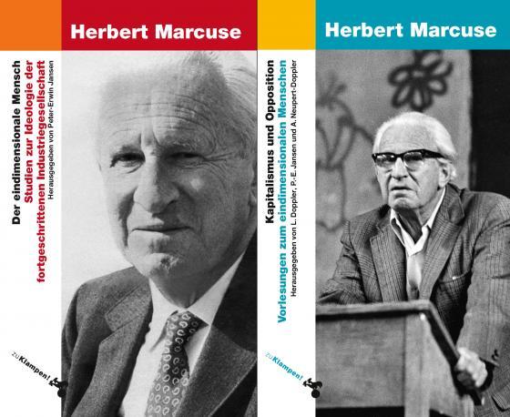 Cover-Bild Kombipaket Eindimensionaler Mensch / Kapitalismus und Opposition