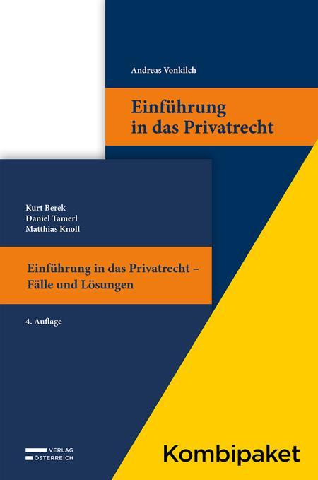 Cover-Bild Kombipaket Einführung in das Privatrecht: Lehrbuch und Casebook