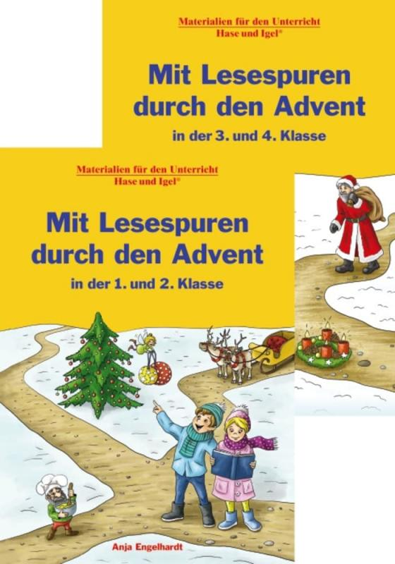 Cover-Bild Kombipaket Mit Lesespuren durch den Advent