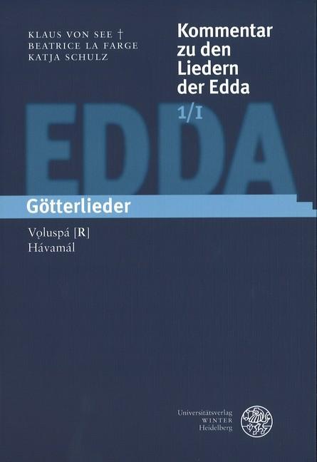 Cover-Bild Kommentar zu den Liedern der Edda / Götterlieder