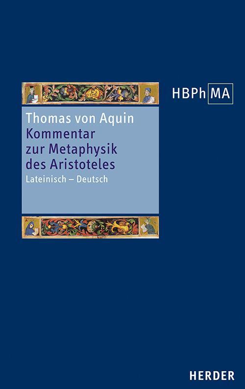 Cover-Bild Kommentar zur Metaphysik des Aristoteles