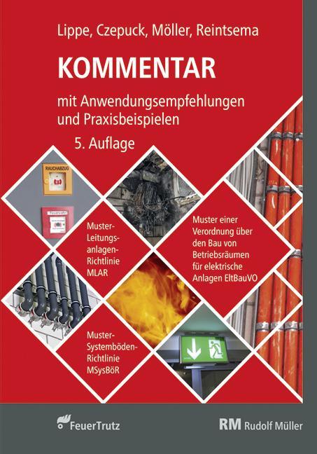 Cover-Bild Kommentar zur Muster-Leitungsanlagen-Richtlinie (MLAR)