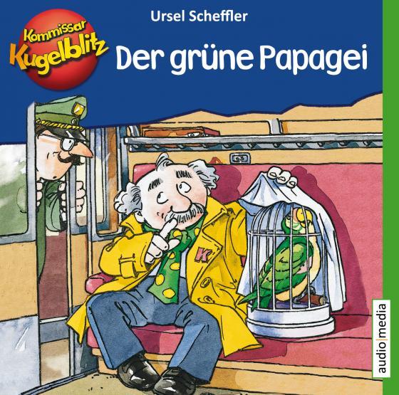 Cover-Bild Kommissar Kugelblitz – Der grüne Papagei