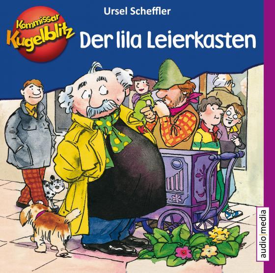 Cover-Bild Kommissar Kugelblitz – Der lila Leierkasten