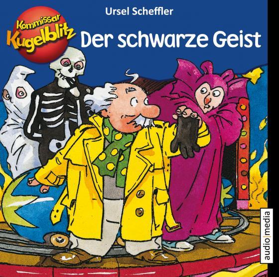 Cover-Bild Kommissar Kugelblitz – Der schwarze Geist