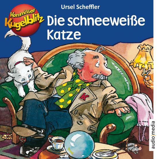 Cover-Bild Kommissar Kugelblitz – Die schneeweiße Katze