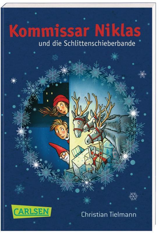 Cover-Bild Kommissar Niklas und die Schlittenschieberbande