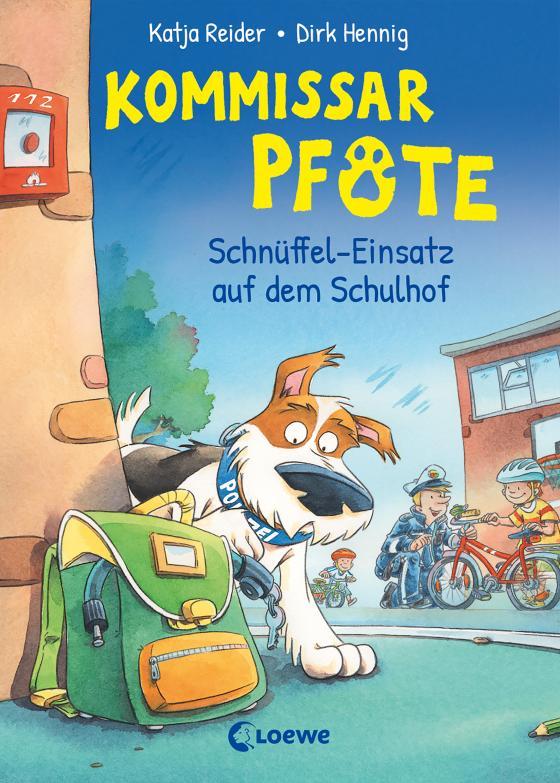 Cover-Bild Kommissar Pfote (Band 3) - Schnüffel-Einsatz auf dem Schulhof
