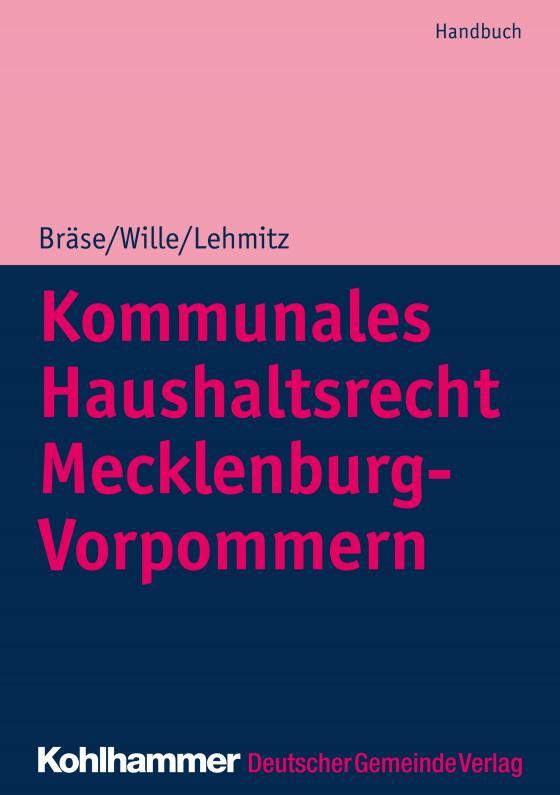 Cover-Bild Kommunales Haushaltsrecht Mecklenburg-Vorpommern