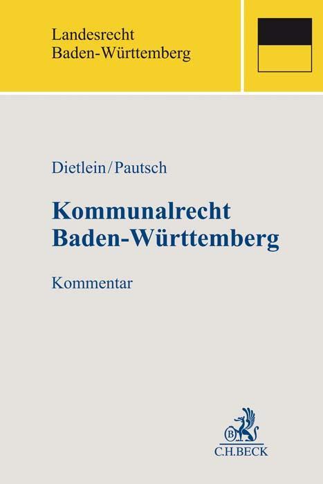 Cover-Bild Kommunalrecht Baden-Württemberg