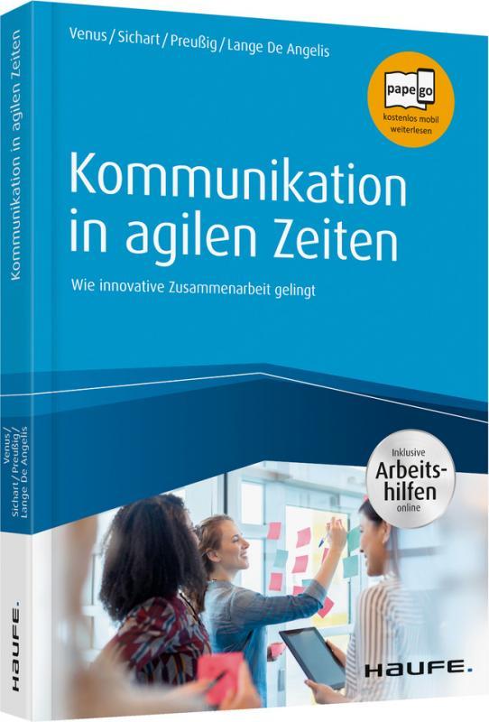 Cover-Bild Kommunikation in agilen Zeiten - inkl. Arbeitshilfen online