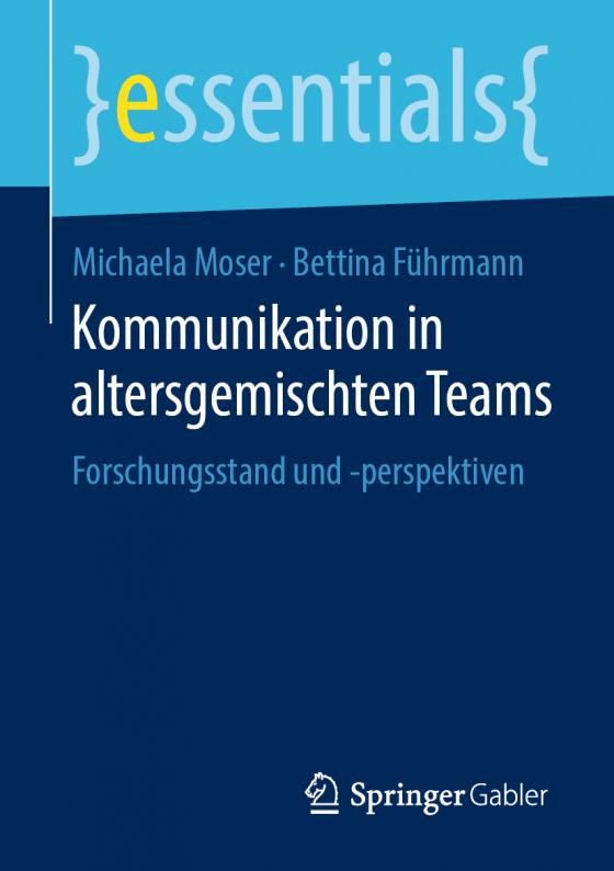 Cover-Bild Kommunikation in altersgemischten Teams