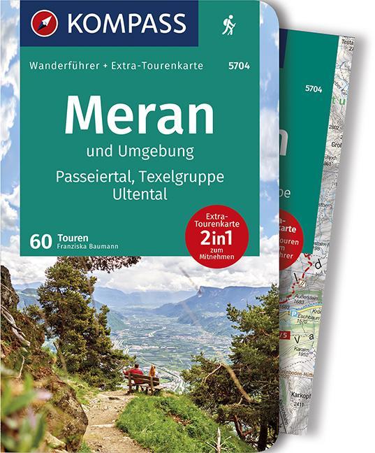 Cover-Bild KOMPASS Wanderführer Meran und Umgebung, Passeiertal, Texelgruppe, Ultental