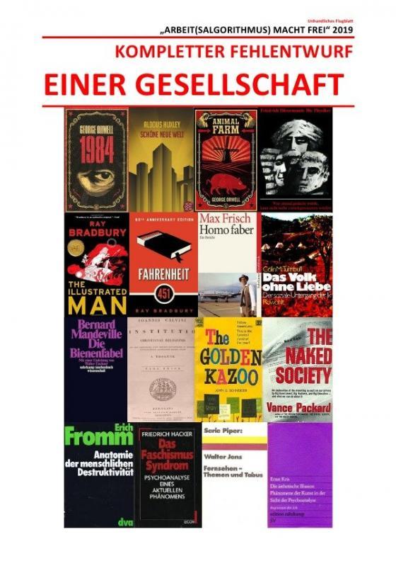 Cover-Bild KOMPLETTER FEHLENTWURF EINER GESELLSCHAFT