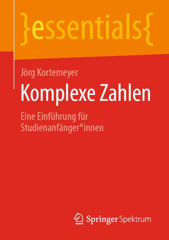 Cover-Bild Komplexe Zahlen