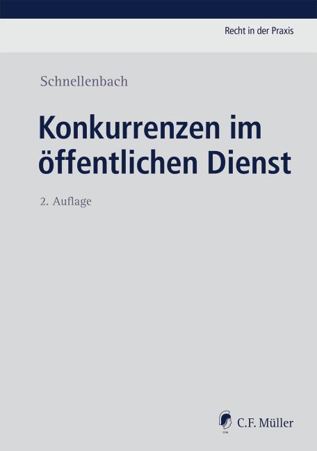 Cover-Bild Konkurrenzen im öffentlichen Dienst