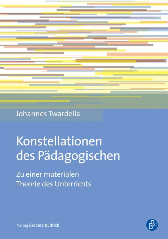 Cover-Bild Konstellationen des Pädagogischen