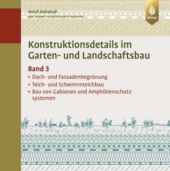 Cover-Bild Konstruktionsdetails im Garten- und Landschaftsbau – Band 3