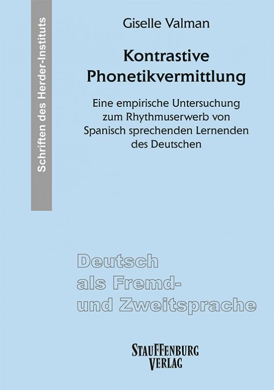 Cover-Bild Kontrastive Phonetikvermittlung