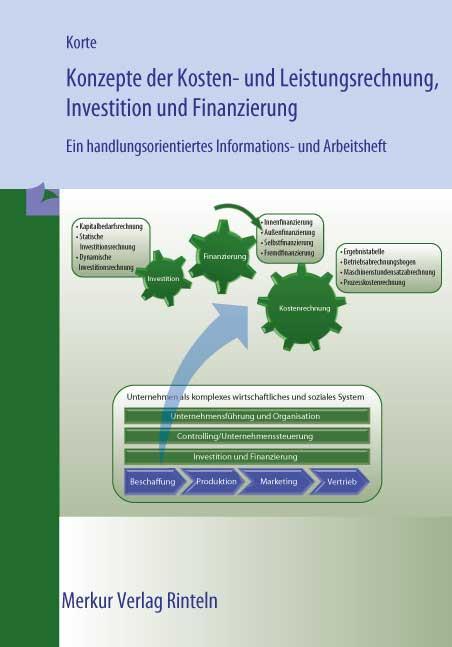 Cover-Bild Konzepte der Kosten- und Leistungsrechnung, Investition und Fianzierung