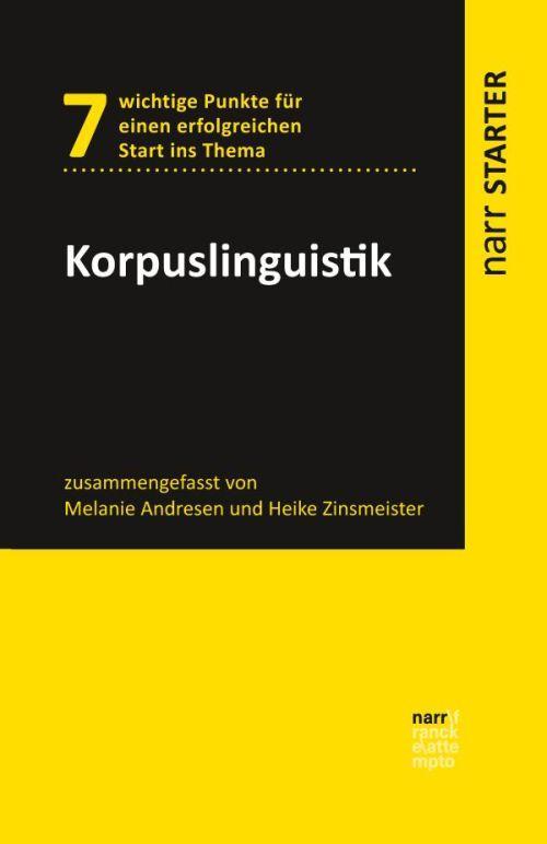 Cover-Bild Korpuslinguistik