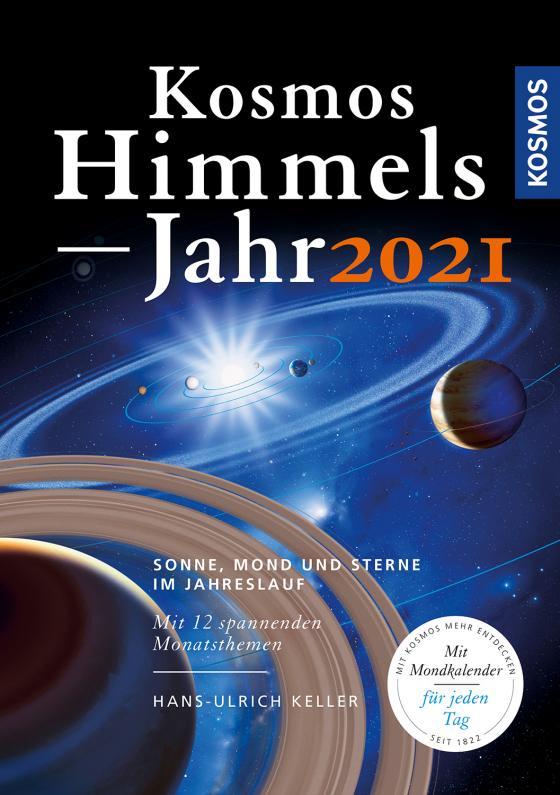 Cover-Bild Kosmos Himmelsjahr 2021